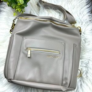 Fawn Design New MINI in Gray BACKPACK/Diaper bag